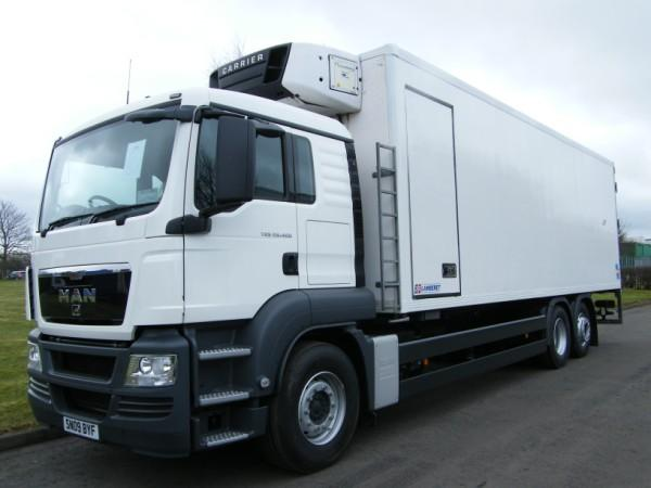 Refrigerated Truck Vehicle : Trucks refrigerated vehicles